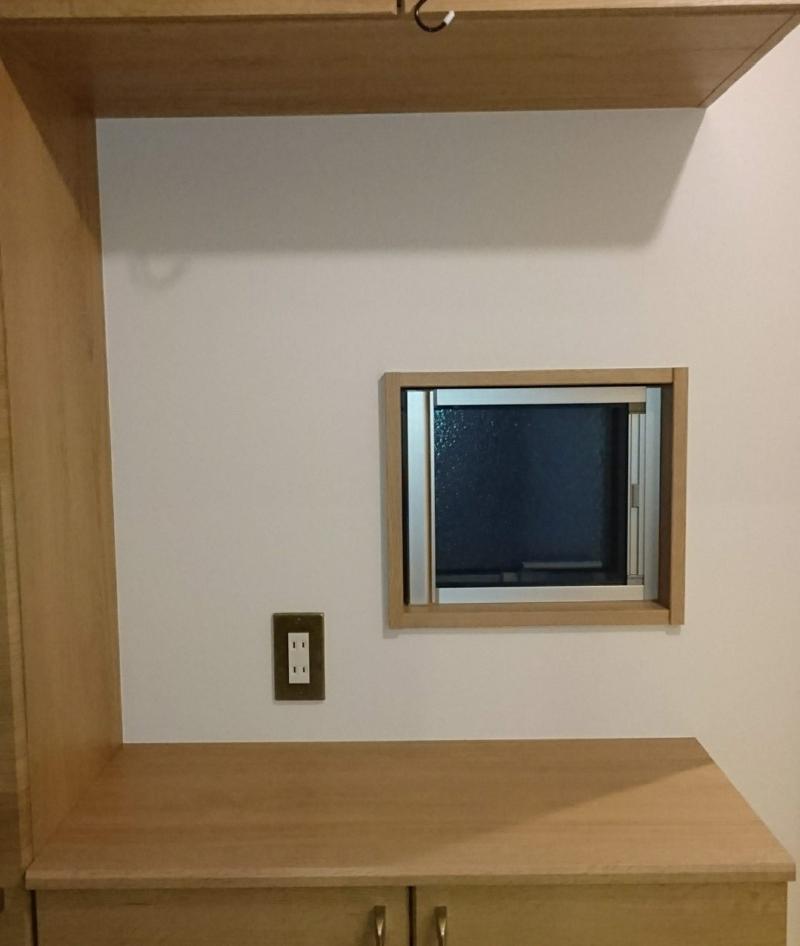 玄関、シューズボックス上のスペース