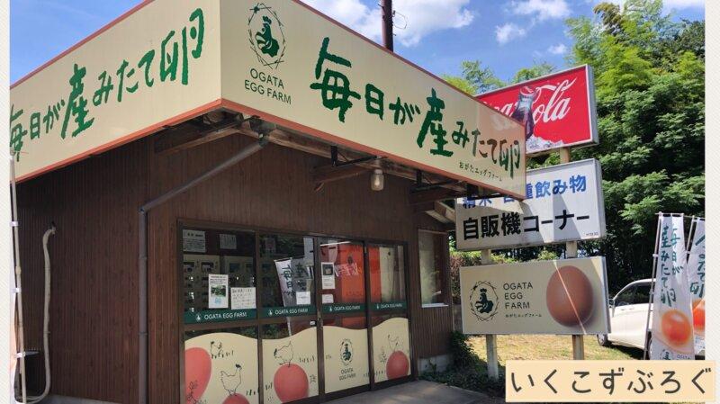 卵の自動販売機、熊本県合志市、緒方エッグファーム